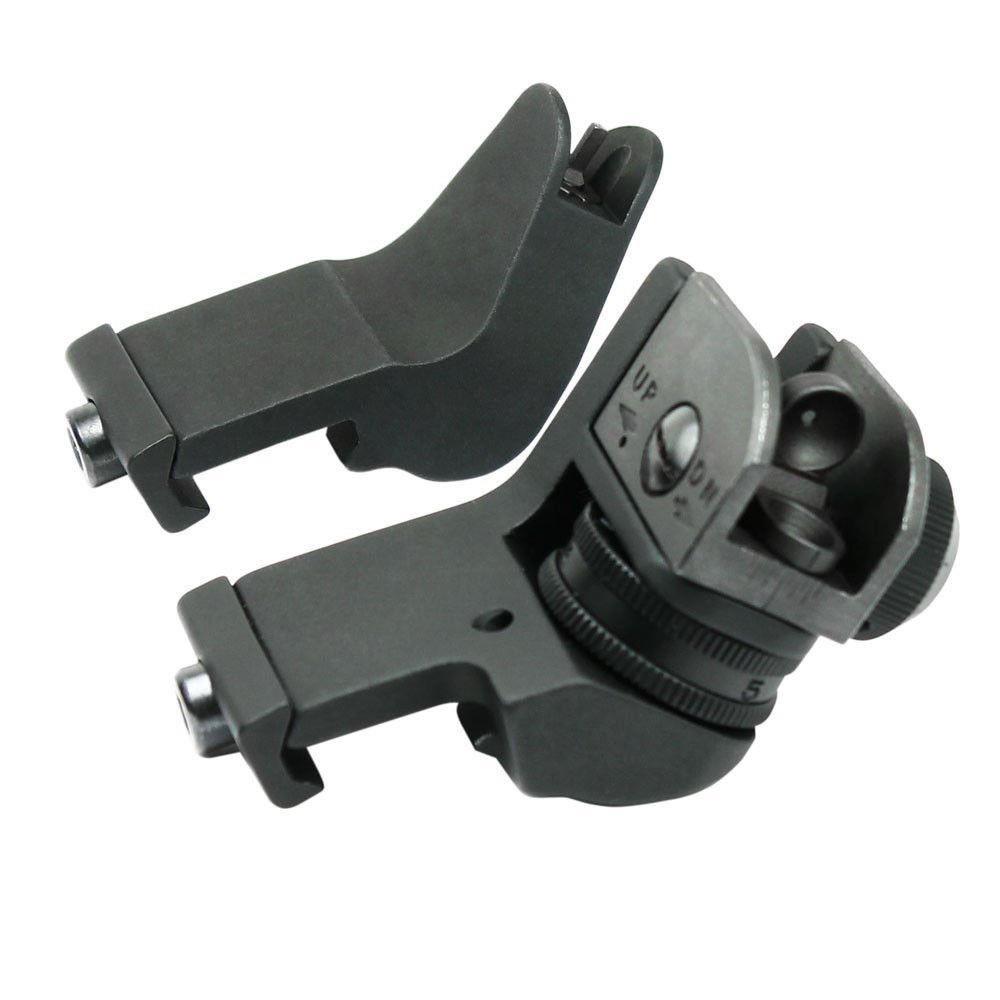 Delantero y trasero de 45 grados de desplazamiento de transición rápida BUIS de reserva de hierro conjunto de vista