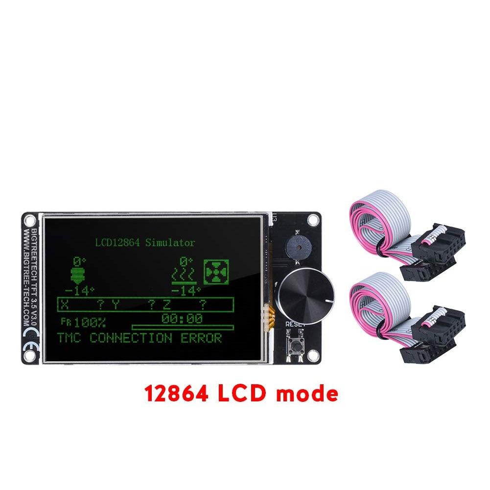 TFT35 E3 V3.0 Touch Screen 12864 LCD Display BTT TFT35 3D Printer Parts For Ender3 upgrade CR10 SKR MINI E3 Board enlarge