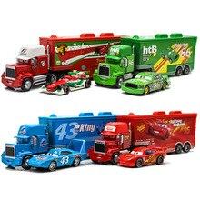 Disney Pixar voitures 3 jouets voiture ensemble foudre McQueen Mack oncle camion sauvetage Collection 1:55 moulé sous pression modèle voiture jouet enfants cadeau