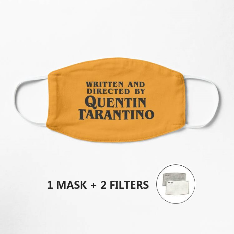 written-and-directed-by-quentin-tarantino-mask-mask-washable-reusable-breathable-mask-face-dust-proof-mascarilla