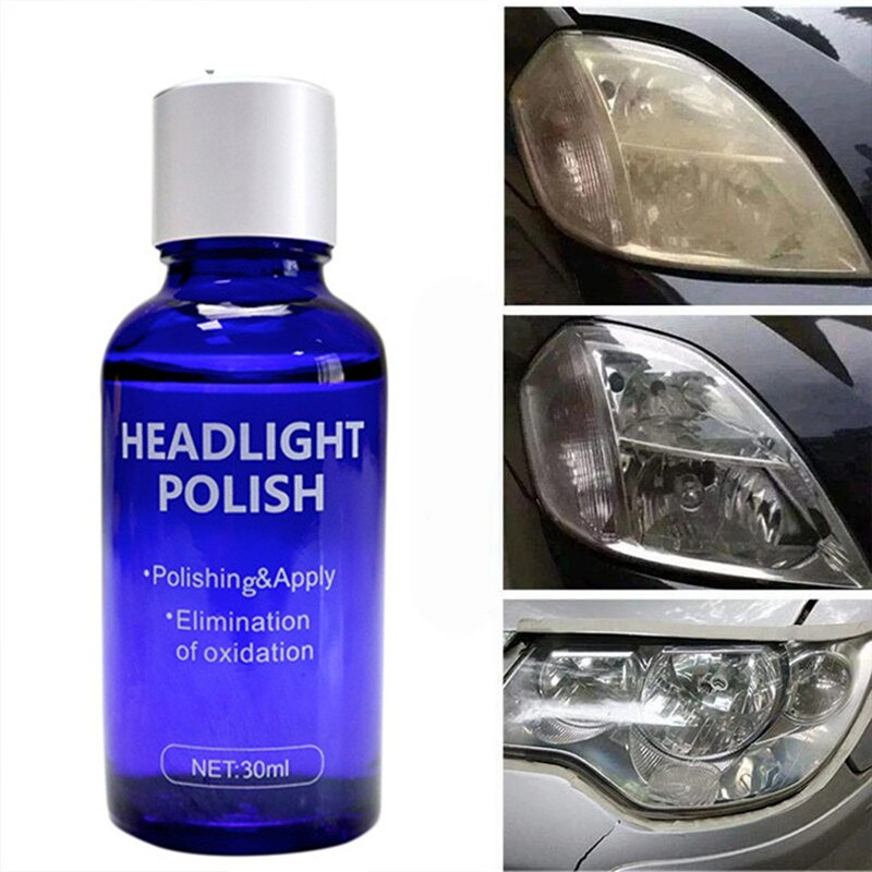 Car Headlight Cleaner Set Home High Density Car Polish Liquid Durable Cars Restoration Fluid Cleaning Tool vclean spot 30AUG13