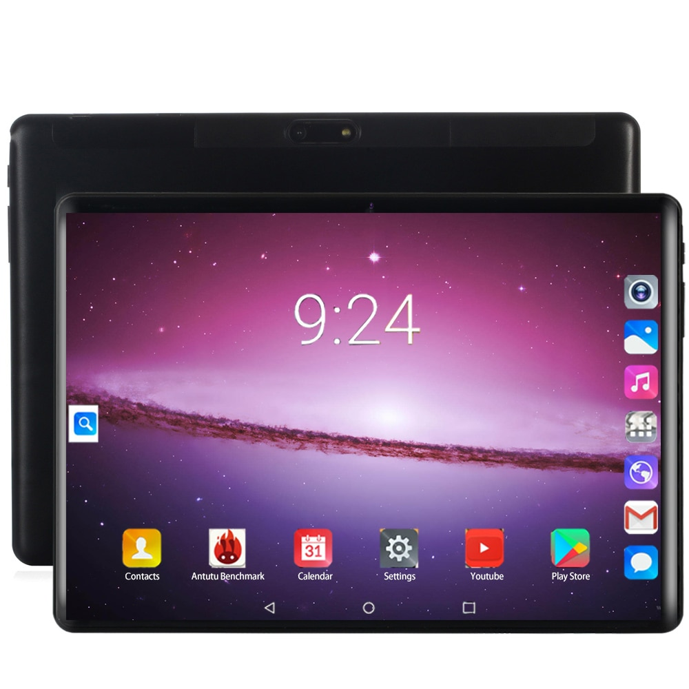 2020 Version 10 inch Octa Core tablet Android 8.0 OS 6GB RAM 128GB ROM 1280x800 IPS Dual SIM Cards Computer 4G FDD LTE GPS Pad