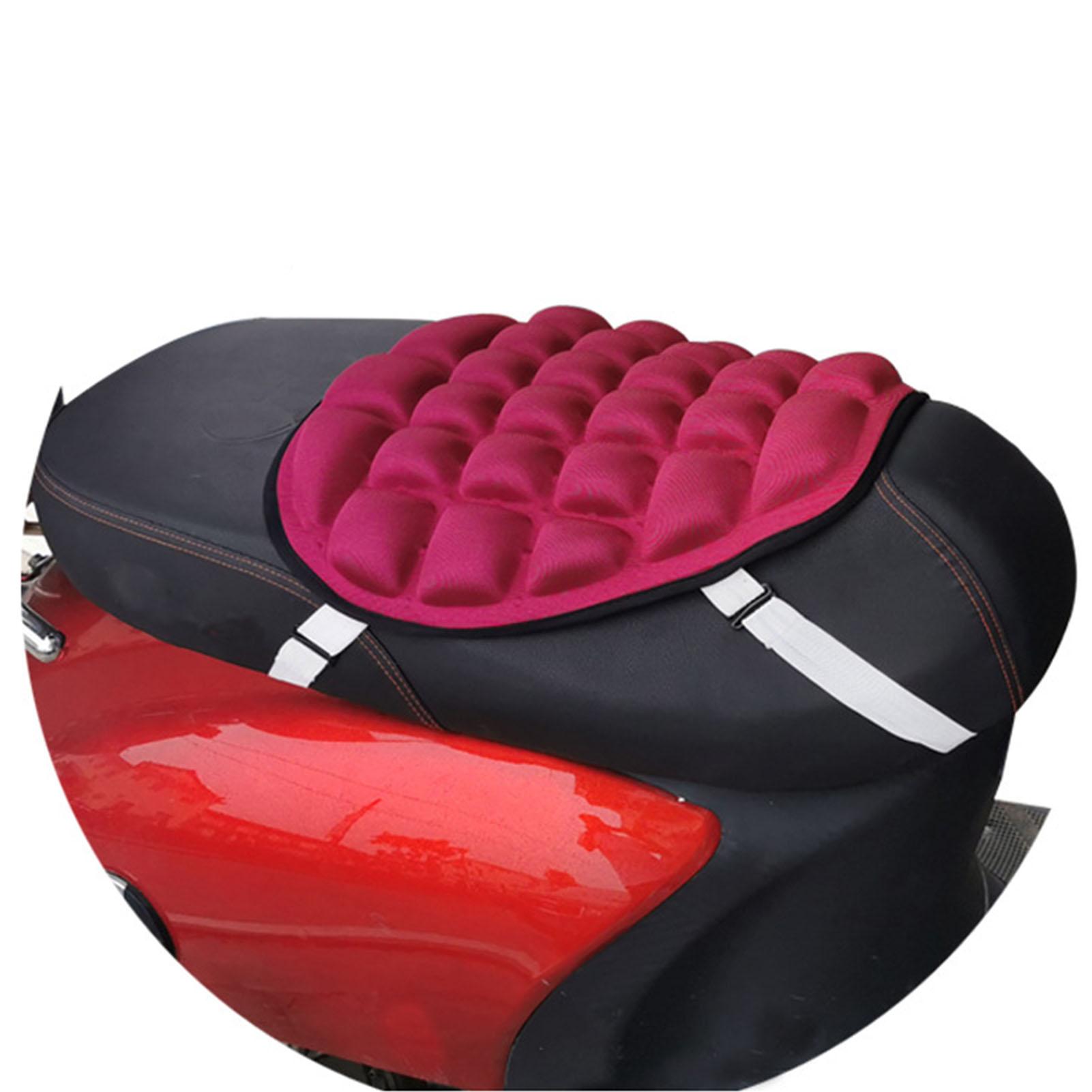 Motocykl fajne pokrycie siedzenia ochraniacz na fotel poduszka 3D Mesh obicia na poduszki poduszka powietrzna poduszka motocyklowa poduszka przeciwsłoneczna