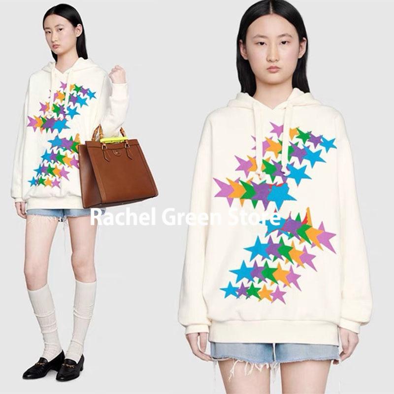 Luxury Designer BRANDED 1:1 boundless Overture series letter printing Sweatshirt hooded Women clothes anime Hoodies Sweatshirts