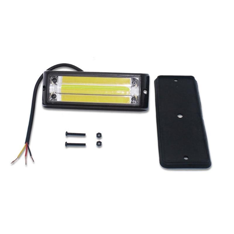 1pc cartruck luz para reboques automóveis lado marcador luz de emergência piscando h8we