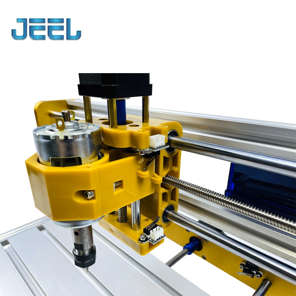 CNC Wood Router 30*18 PRO-VER DIY Machine 0-15W Laser Engraver  with Limit Swiitch, Probe Machine, Anti-dust Board, GRBL1.1 enlarge