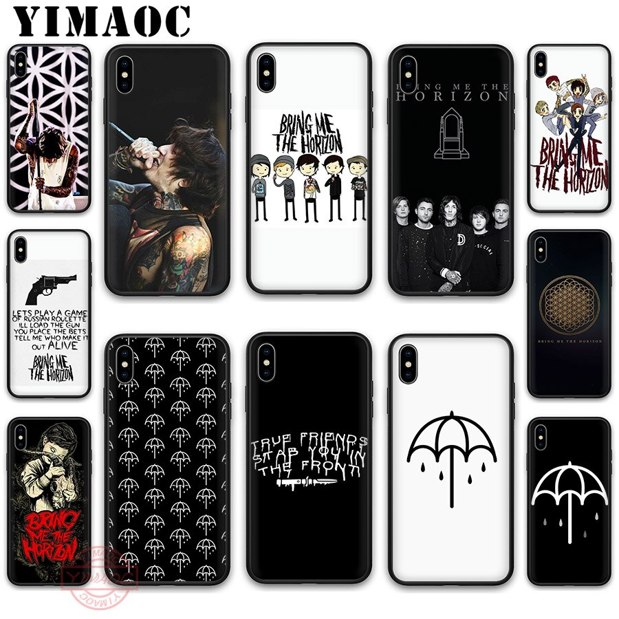 Мягкий силиконовый чехол YIMAOC Oliver Sykes Bring Me the Horizon bmth чехол для iPhone 5 5S SE 6 6S 7 8 Plus X XS XR 11 Pro Max