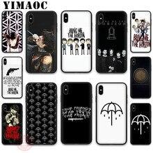 YIMAOC Oliver Sykes tráeme el horizonte bmth suave de silicona caso para iPhone 5 y 5s SE 6 6S 7 8 Plus X XS X XR 11 Pro Max funda trasera