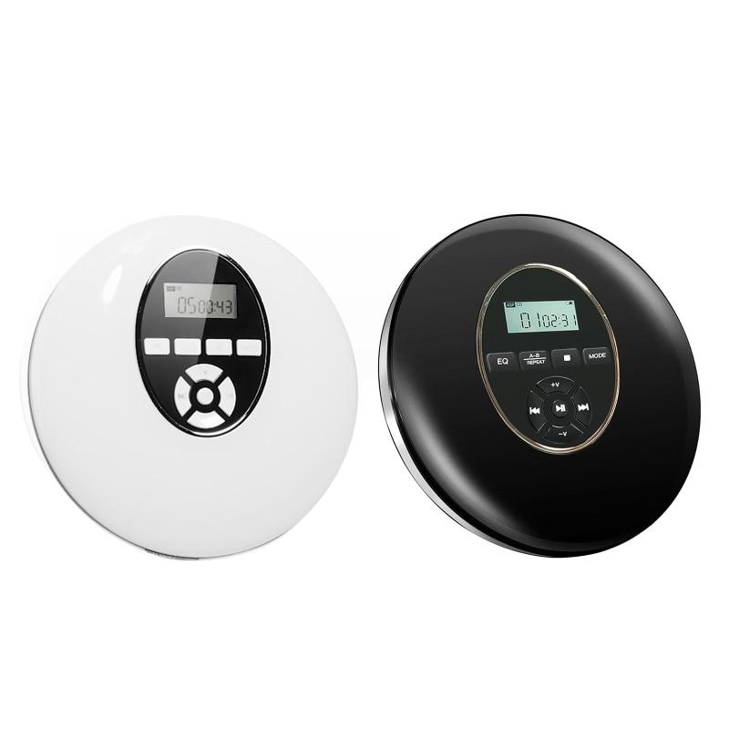 Runde Stil Tragbare-CD Player Kopfhörer HiFi Musik Reproductor -CD Walkman D08A