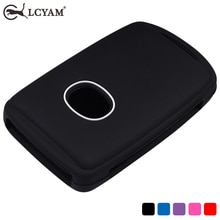 Mazda Key Fob Cover Case Silicone Rubber Protection Shell Smooth Soft Key Holder Mazda CX30 CX5 Car
