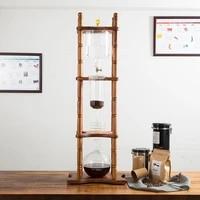popular ice drip coffee pot regulatable dripper filter cold brew pots ice brewer percolators espresso coffee maker tool 3000ml
