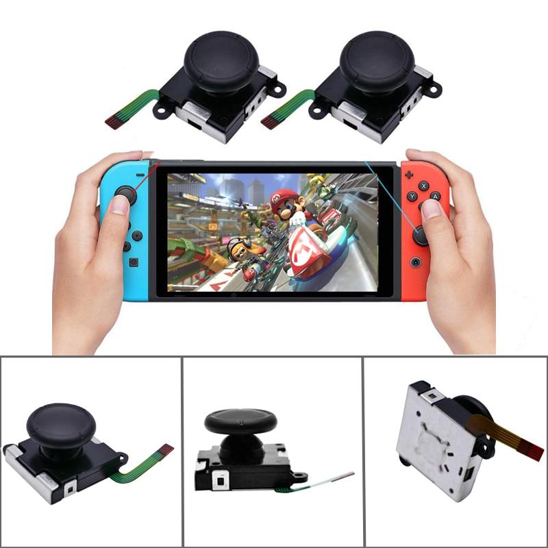10-30 stücke 3D Analog Joystick Control Pad Stick-Taste kappe Für Nintendo Schalter Freude Con Nintend Schalter reparatur teile Großhandel