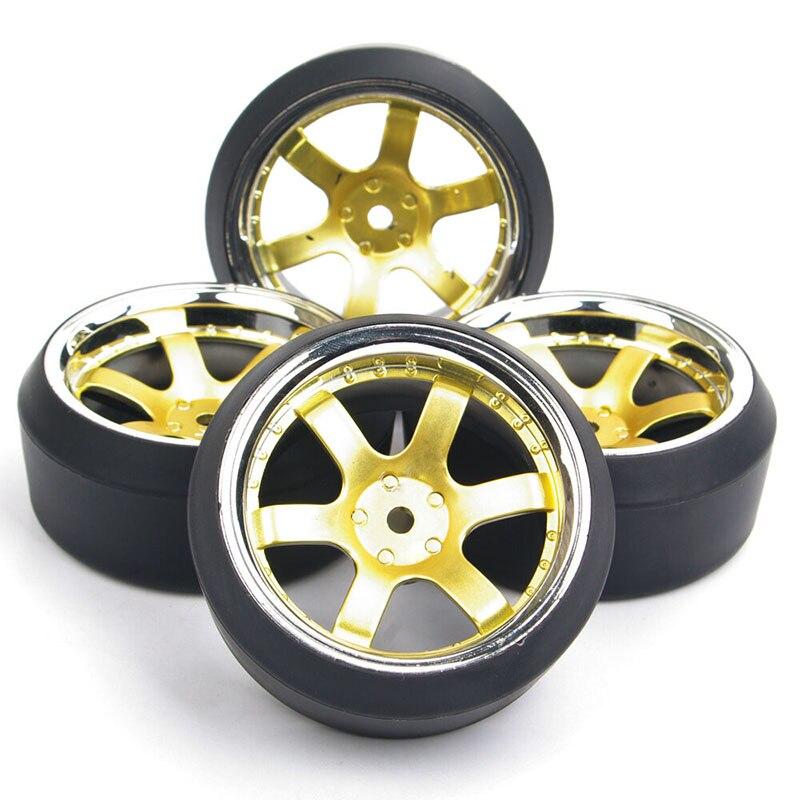 PP0040 + PP0370 4 шт. 1/10 12 мм шины для дрифта и колесные диски Hex Fit HSP HPI RC 1:10 на дороге гоночный автомобиль