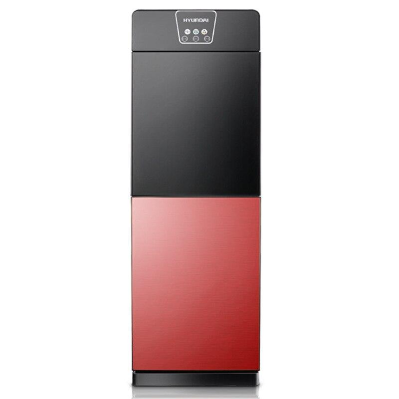 720W moderno Nuevo dispensador de agua Vertical Oficina hogar hielo energía caliente doble puerta de vidrio templado