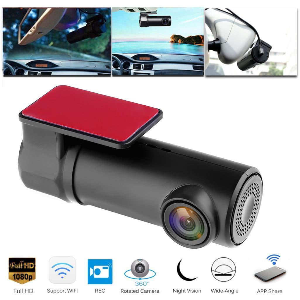 1080P Wifi Mini Car DVR Dash Camera Night Vision Camcorder Driving Recorder  Cam WIFI Digital Registrar