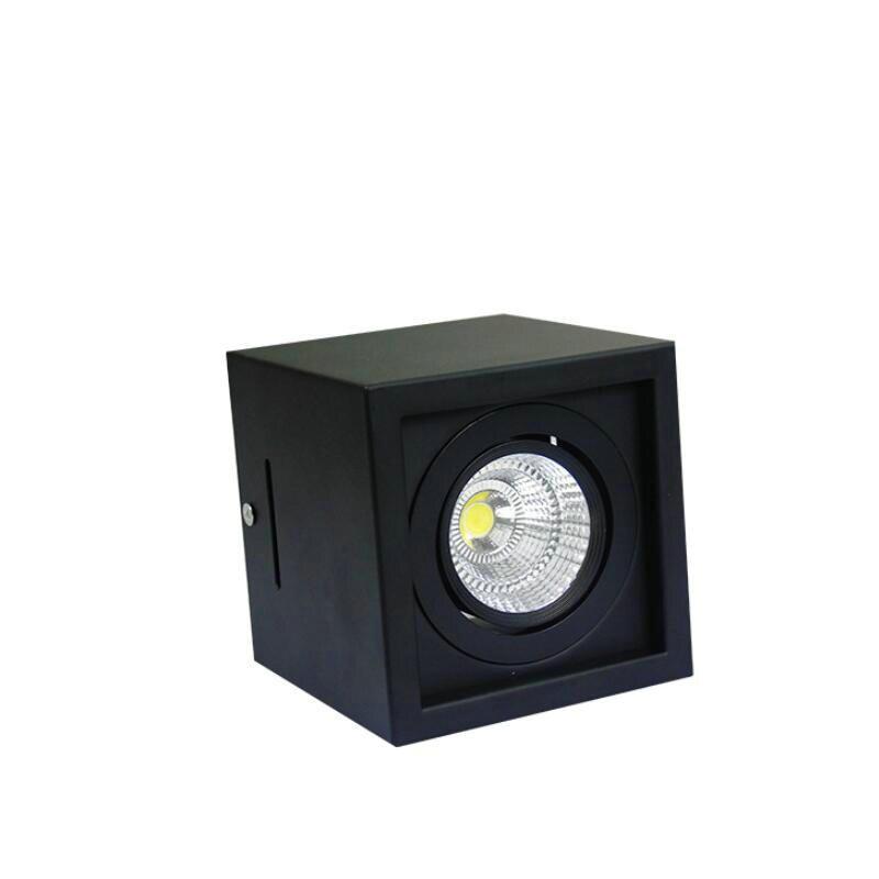 1 قطعة 10 واط 20 واط عكس الضوء Led النازل سقف بقعة ضوء AC85-265V سطح شنت داخلي المنزل الملابس متجر مخازن الإضاءة