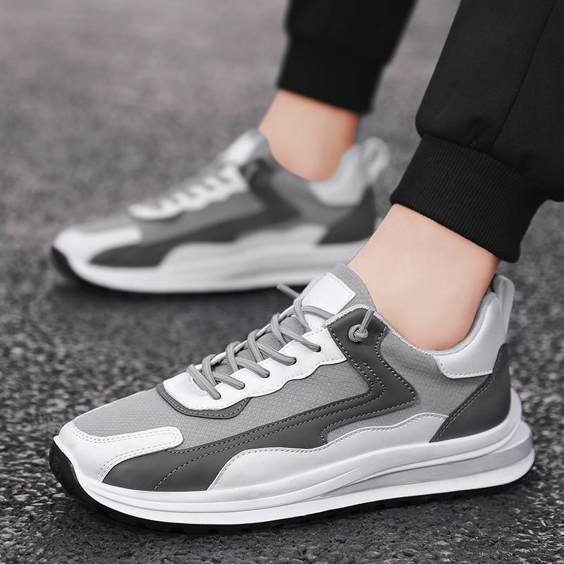 Горячая Распродажа, летняя новая стильная мужская обувь, дышащие кроссовки, модная спортивная и удобная мужская обувь, мужские кроссовки дл...