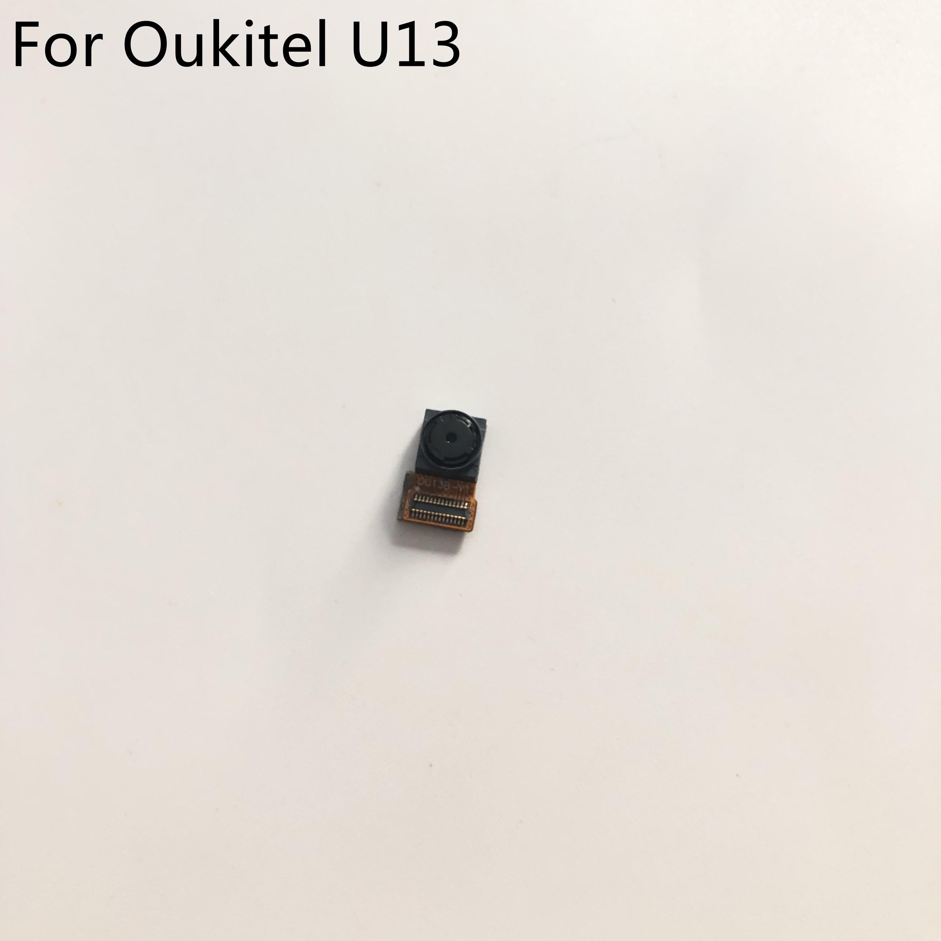 Usado câmera frontal 8.0mp módulo para oukitel u13 mtk6753 octa-core 5.5 polegada 1920*1080 p smartphone