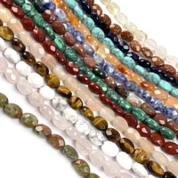 natural stone round feceted beading crystal semifinished loose beads for jewelry making diy necklace bracelet accessories