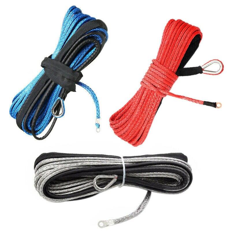 Cable de cabrestante sintético de 3/16