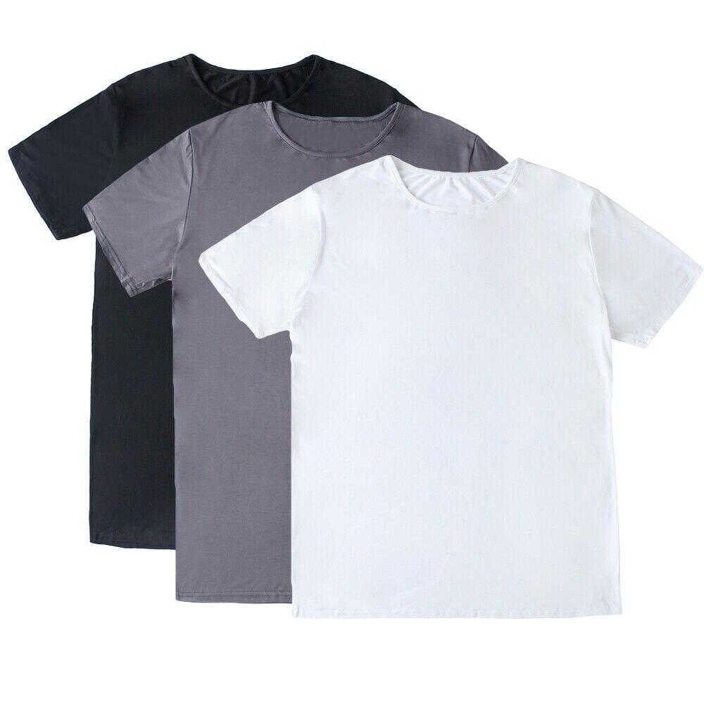 Camiseta árabe saudí para hombre, camisetas de manga corta de Color sólido, camisetas lisas, camisetas para hombre islámicas musulmanas, ropa para hombre de Oriente Medio