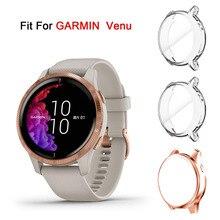 Ultra Thin Screen Protector Case for Garmin Venu GPG, 3 Pack TPU Full Protective Case Cover for Garmin Venu Smartwatch Bands