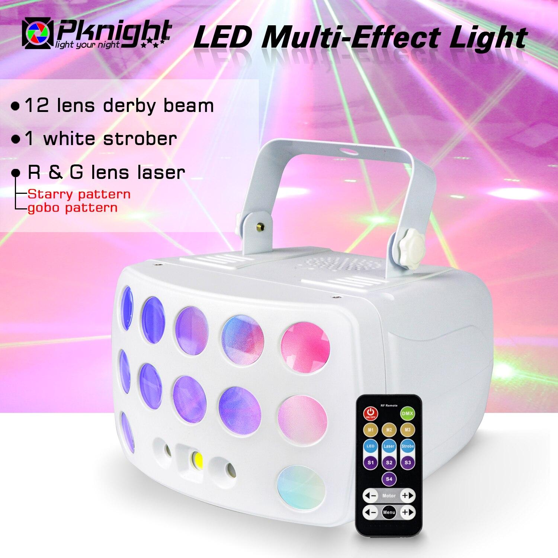 دي جي الإضاءة أضواء للمسرح ، 3 في 1 متعددة تأثير الضوء ، ديربي شعاع و ستروب و الليزر دمكس ضوء للمنزل الرقص حفل زفاف الحدث المعرض