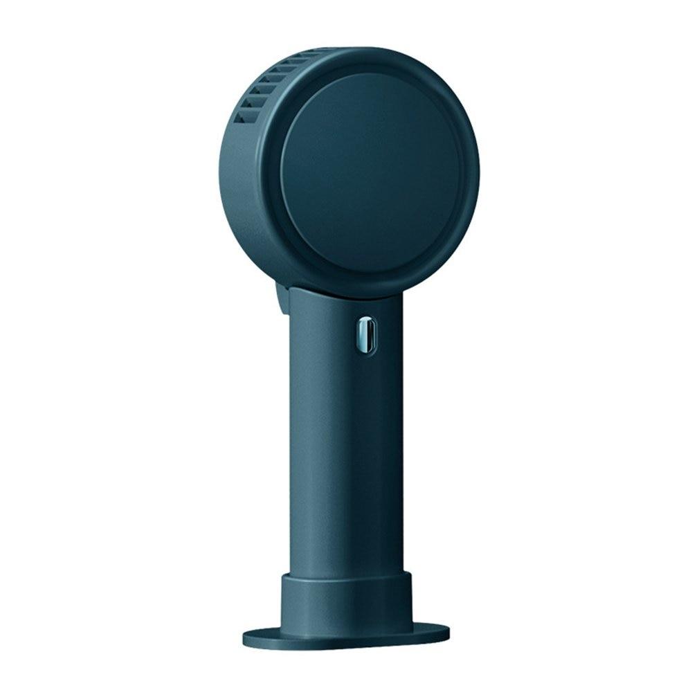 Handheld Mini Fan USB Desk Fan Personal Portable Leafless Table Fan USB Rechargeable Cooling Fan For Travel Office Household