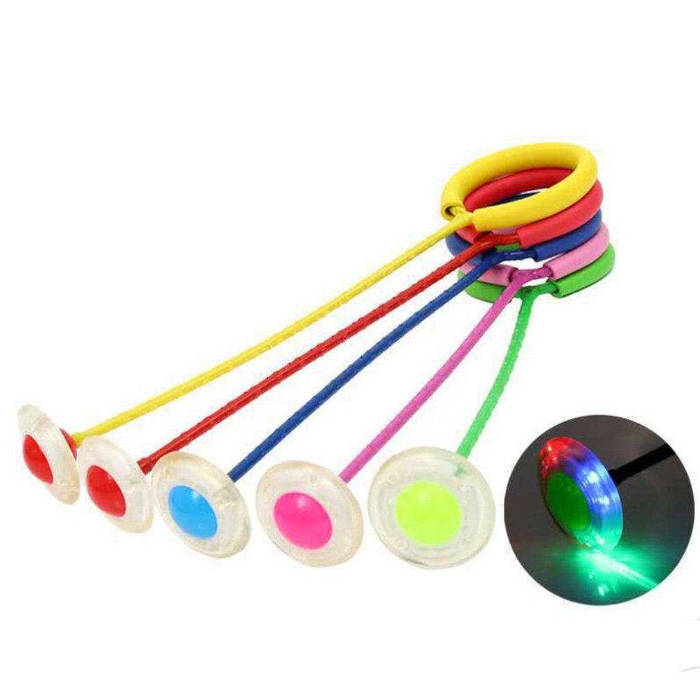 Pelota de salto para niños, pelota de salto de plástico Neutral Hyun Dance Flash Rotation Jump Ring Hop, pelota de entrenamiento para adultos que rebota