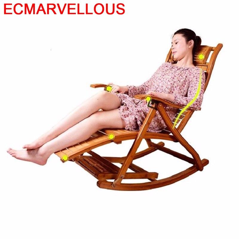 Dobravel-mecedora Kanapa, Cama Plegable, sillón Moderno Para Sala de estar, de bambú, Reclinable, salón, diván