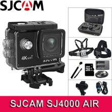 Sjcam sj4000 에어 액션 카메라 와이파이 4 k deportiva 2.0 인치 lcd 화면 30m 방수 하우징 미니 헬멧 sj 4000 캠 스포츠 카메라
