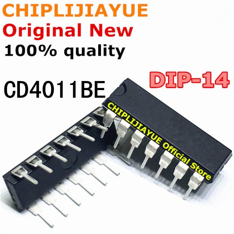 20 PIÈCES CD4011BE DIP14 CD4011B CD4011 DIP 4011 DIP-14 nouveaux et originaux IC Chipset