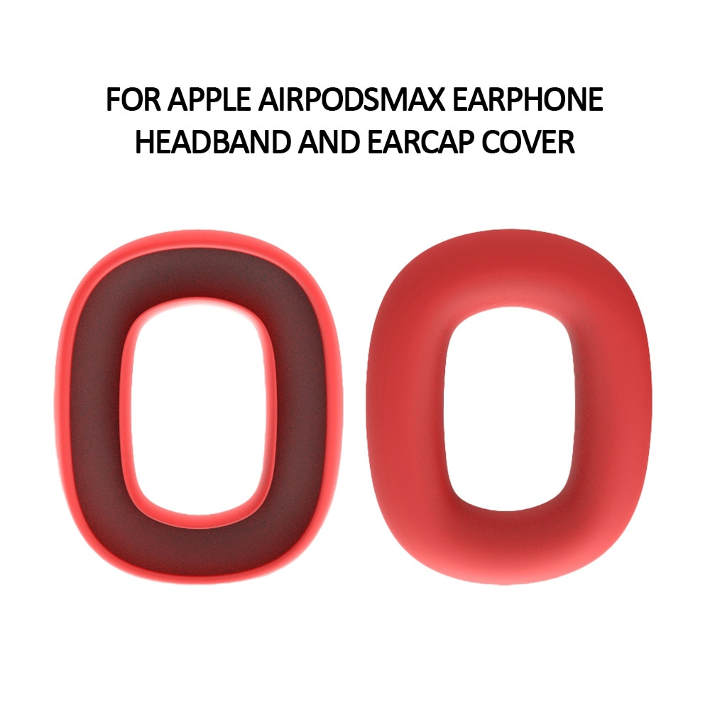 1 Pair Earpad  Protective Case  For Airpods Max  Earplugs Headphones Replacement Sponge Silicone Case Soft Earphone Buds enlarge