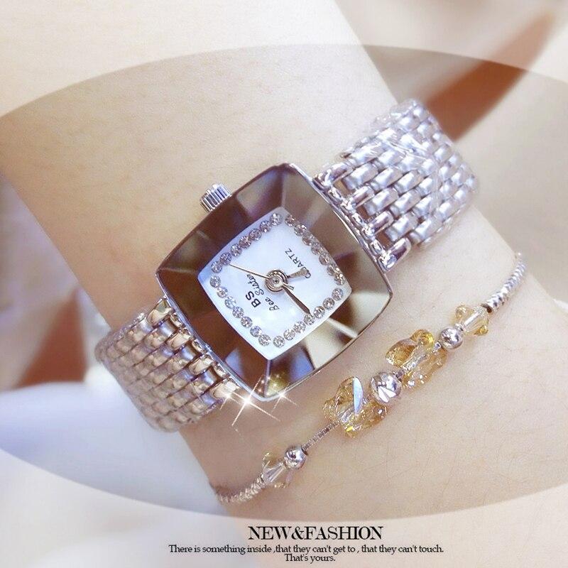 Fashion Watch Women Dress Watch Shiny Crystal Diamond Casual Life Waterproof Relgio Watch For Women Ladies Quartz Watch enlarge