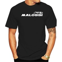 Nouveau drôle hommes t-shirt blanc t-shirt t-shirts noir t-shirt hommes Maglietta Manica Corta Malossi Rossa Taglia en Cotone