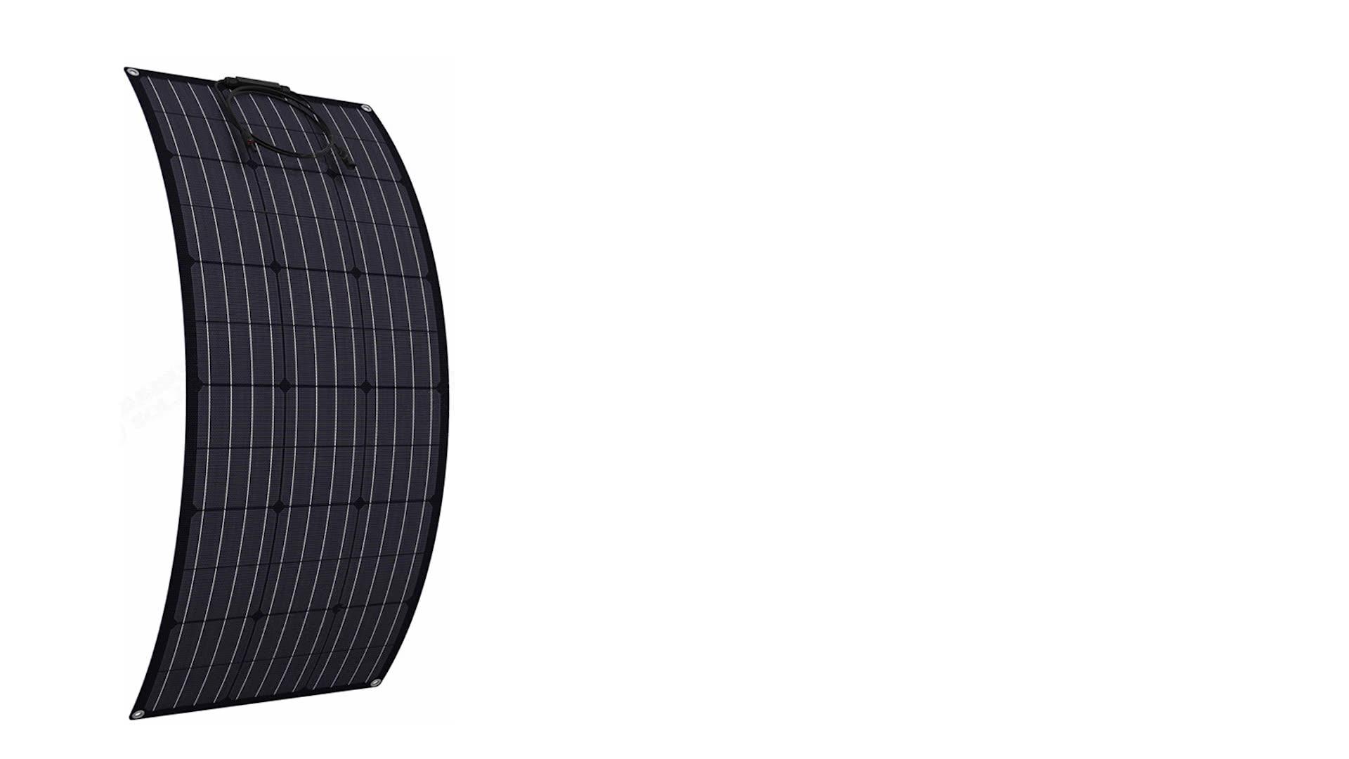 الخلايا الشمسية عالية الأداء 22% 145 واط انخفاض سعر لوحات الطاقة أحادية البلورية ETFE مرنة