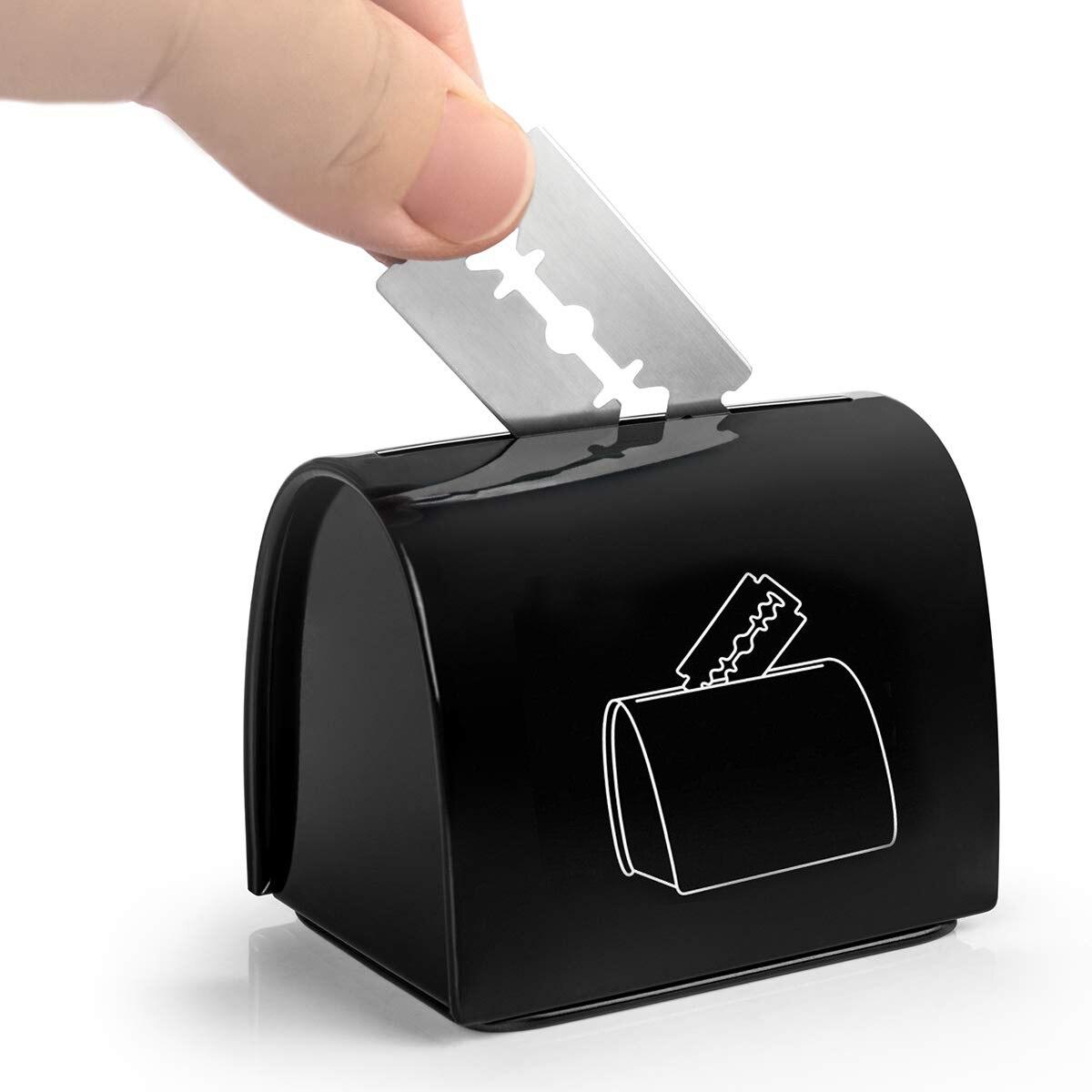 2021 Новое лезвие удаление чехол безопасного хранения монет банка для б/у Безопасность сменные лезвия для бритвы для домашнего пользования б...