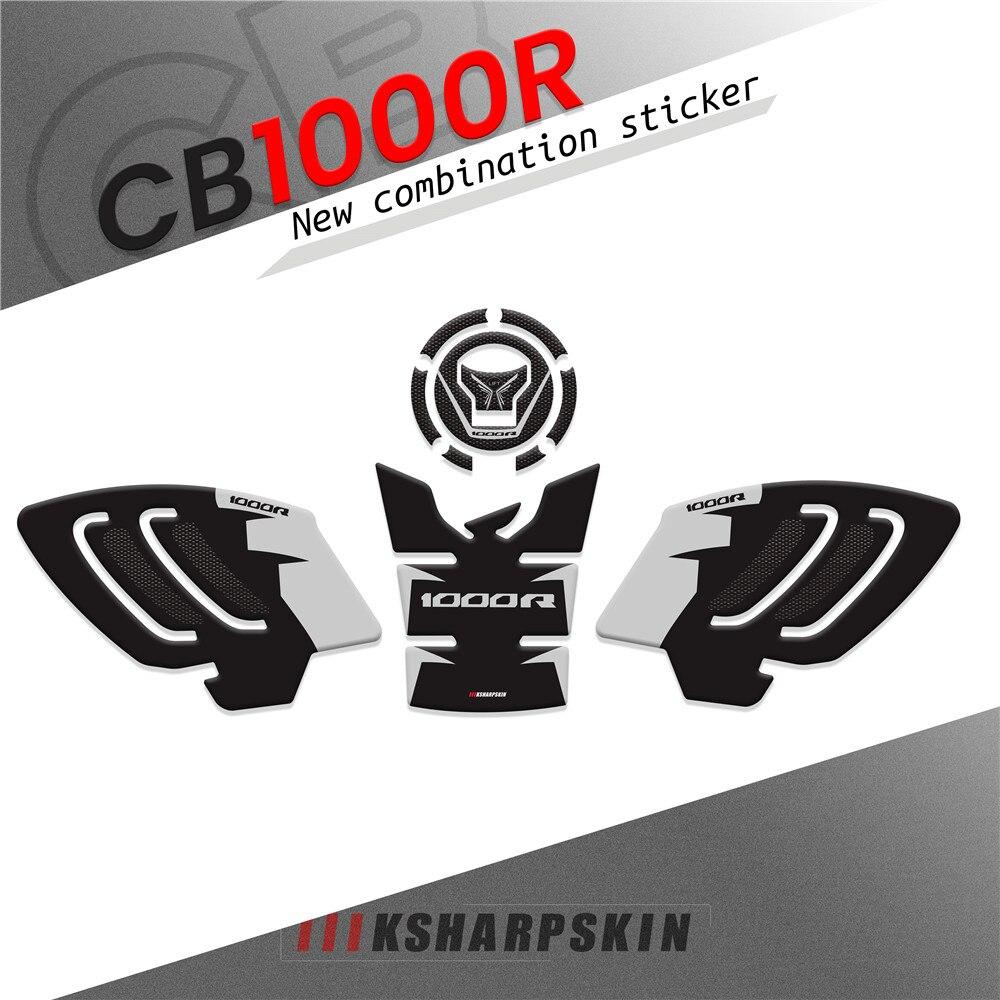 new 257w sigelei gw 20700 tc kit with 4 5ml f tank NEW Motorcycle 3D air cap sticker tank pad sticker Fuel Oil Tank Protector Kit Decoration For HONDA CB1000R cb 1000r cb1000 r