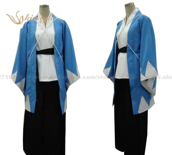 Kisstyle moda hakuoki shinsengumi kitan cosplay traje uniforme, qualquer tamanho