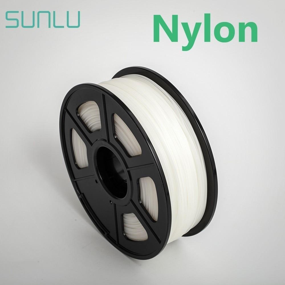 Filamento de impresora 3d PA Nylon V2 1,75mm/3,0mm con carrete 1KG, Material de alta resistencia, pantalla Vas de impresión