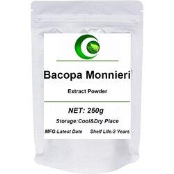 Pó puro natural do extrato de bacopa monnieri do pó orgânico jia ma chi xian melhora a memória & o humor