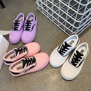 Women's Flat Shoes Outdoor Casual Comfort Women's Canvas Shoes Platform Soft-soled Fashion Shoes