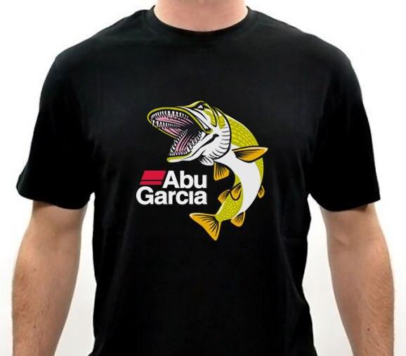 Camiseta con logotipo de pescado Limited ABU GARCIA FOR LIFE para hombre,...