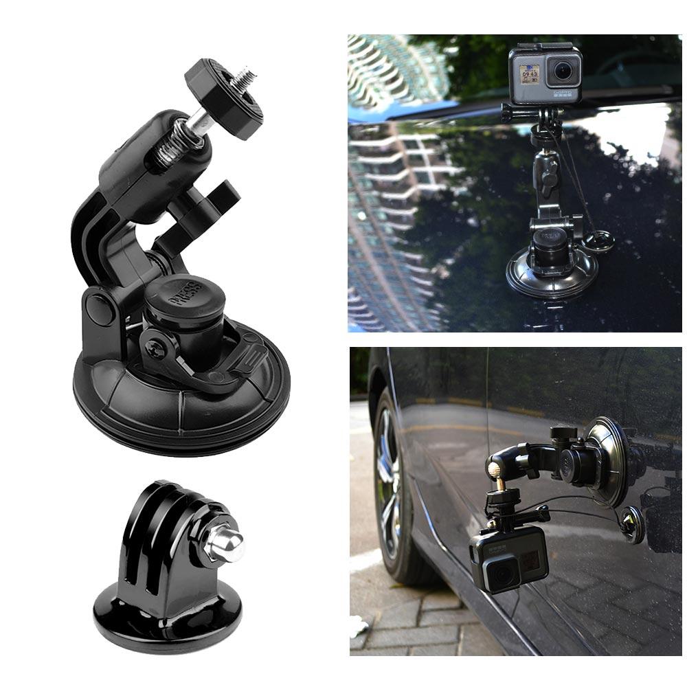 9CM Car Suction Cup For GoPro Hero 7 6 5 4 3 Accessories Tripod Adapter Holder Sucker Xiaomi Yi SJCAM SJ4000 Action Sport Camera