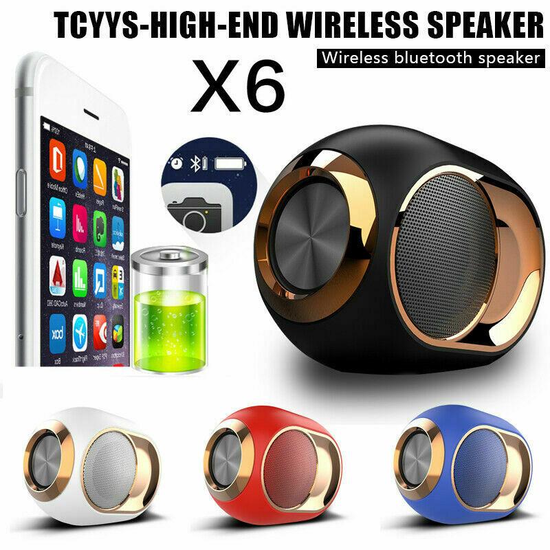 TCYYS-X6 Bluetooth Audio inalámbrico altavoz Dual-108 DB HiFi sonido estéreo portátil nuevo
