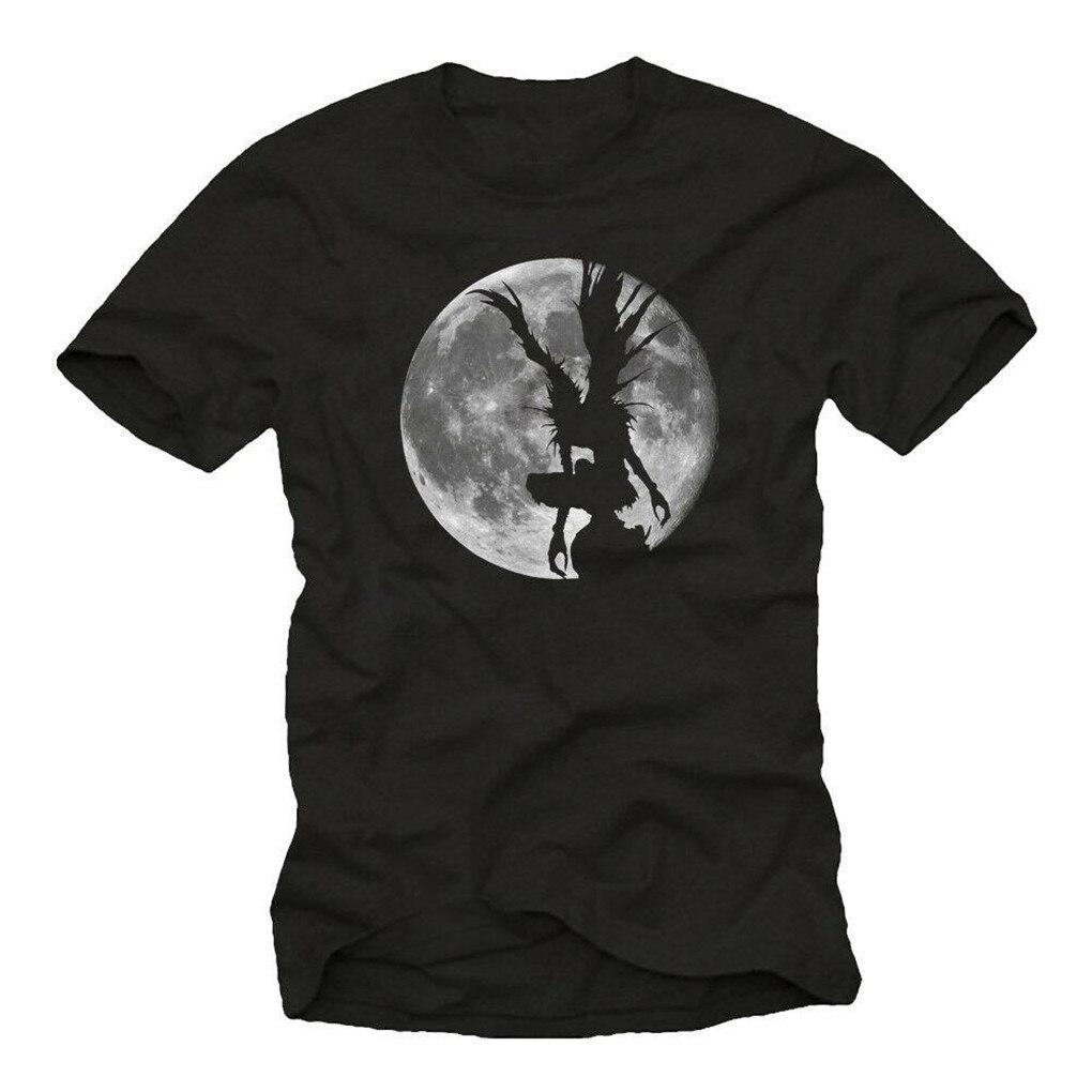 Camiseta de cómic de Death Shinigami para hombre, camiseta de empollón de Anime Ryuk Note-Men, nueva camiseta Unisex divertida