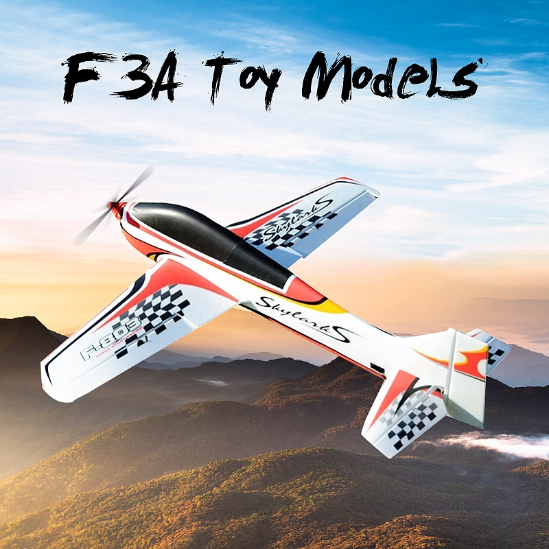 F3A 950mm Wingspan EPO Trainer 3D Aerobatic Aircraft RC Airplane KIT Rc plane Toys For Among us Kids
