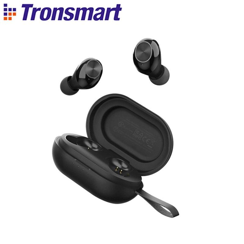 Tronsmart Spunky Beat App Edition TWS Earphone Wireless Bluetooth Earbuds with QualcommChip,AptX, CV