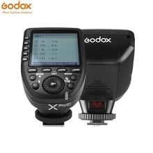 Godox Xpro-F Ttl Wireless Flash Trigger Zender Ondersteuning Ttl 1/8000S Hss 11 Aanpasbare Functies Voor fuji Dslr Camera