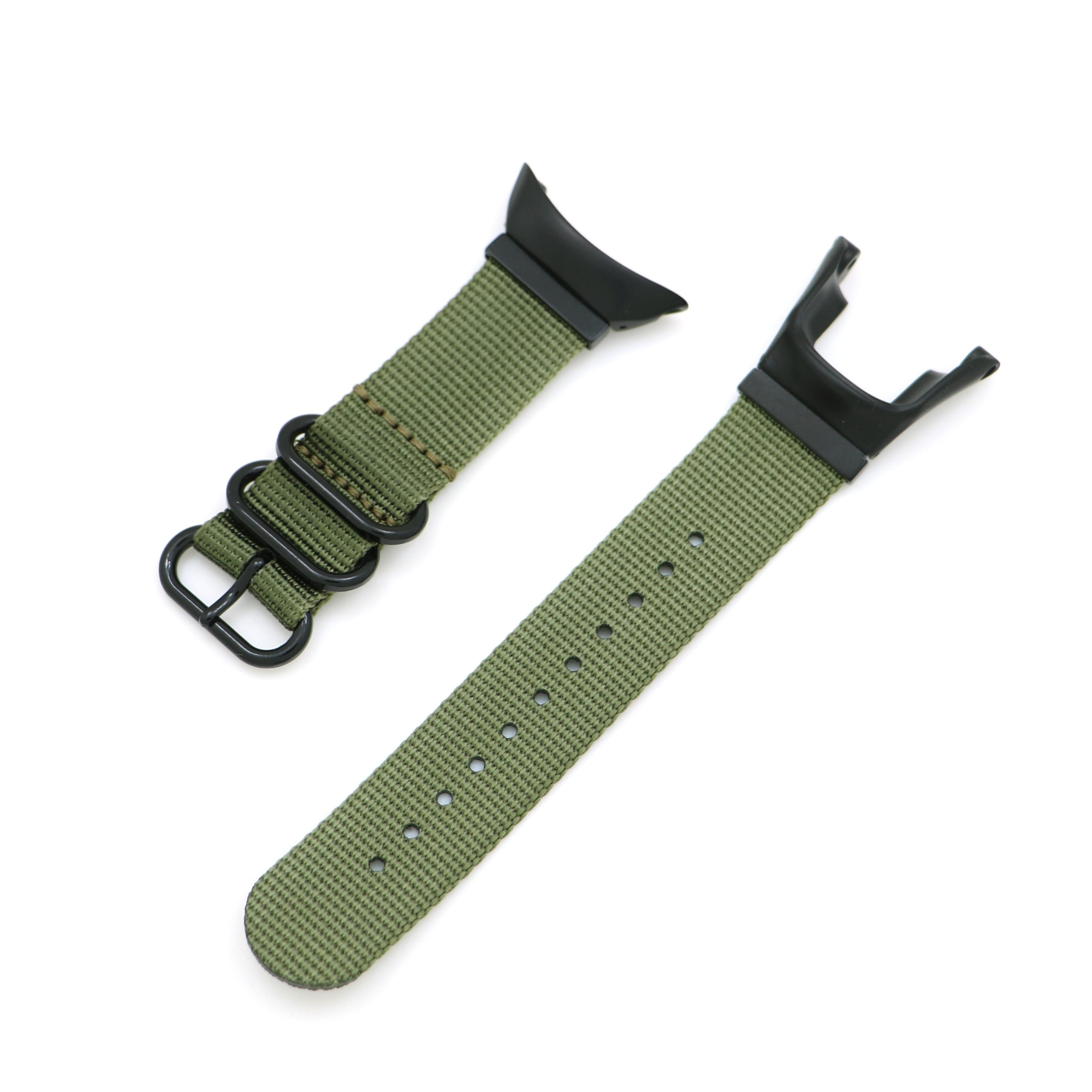 Wtitech-Correa de nailon de repuesto para reloj, pulsera para Suunto Ambit/Ambit2/Ambit3 Sport/Run/Peak